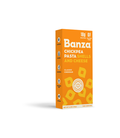 Banza Chickpea Pasta SHELLS and CHEESE