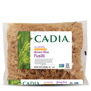 Brown Rice Fusilli  (16oz)