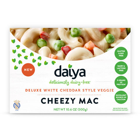 Cheezy Mac, Deluxe White Cheddar Style Veggie (10.6oz)