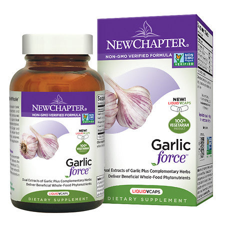 New Chapter Garlic Force 30 liquid Vcaps