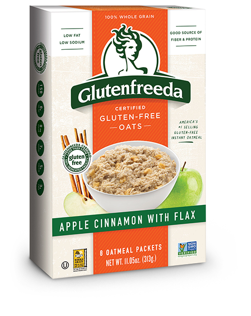 Instant Oatmeal - Apple Cinnamon with Flax (8packs)
