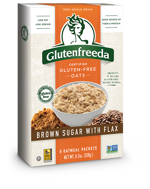 Instant Oatmeal - Brown Sugar with Flax (8packs)