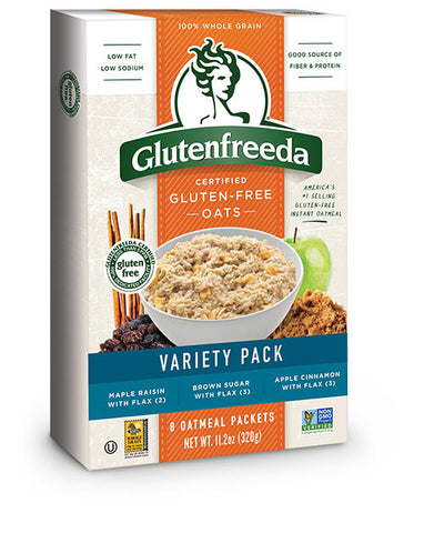 Instant Oatmeal - Variety Pack (8packs)