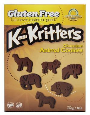 KinniKritter Animal Cookies (8oz) Chocolate