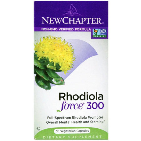 New Chapter Rhodiola Force 300  30 Veg Capsules