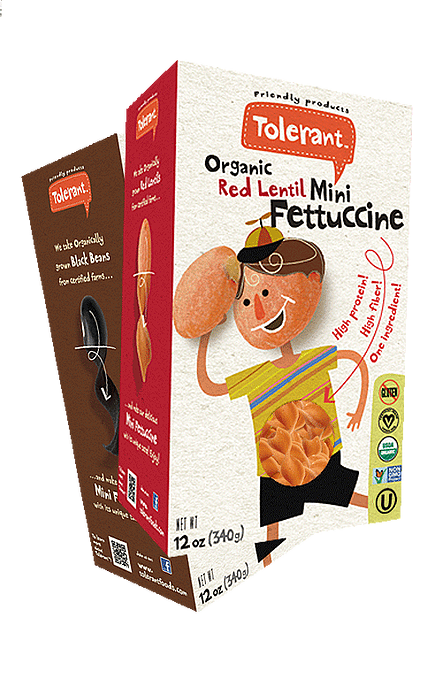 Organic Red Lentil Mini Fettuccine (8oz)