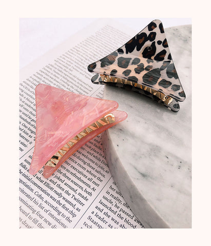 The Good Hair Day Clips: Leopard/Pink