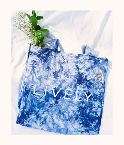 The Cyber Swag Pack: Blue Tie Dye