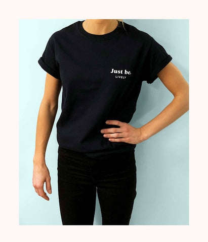 The Just Be Tee: Black