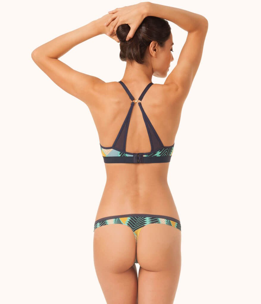 The No Show Thong - Print