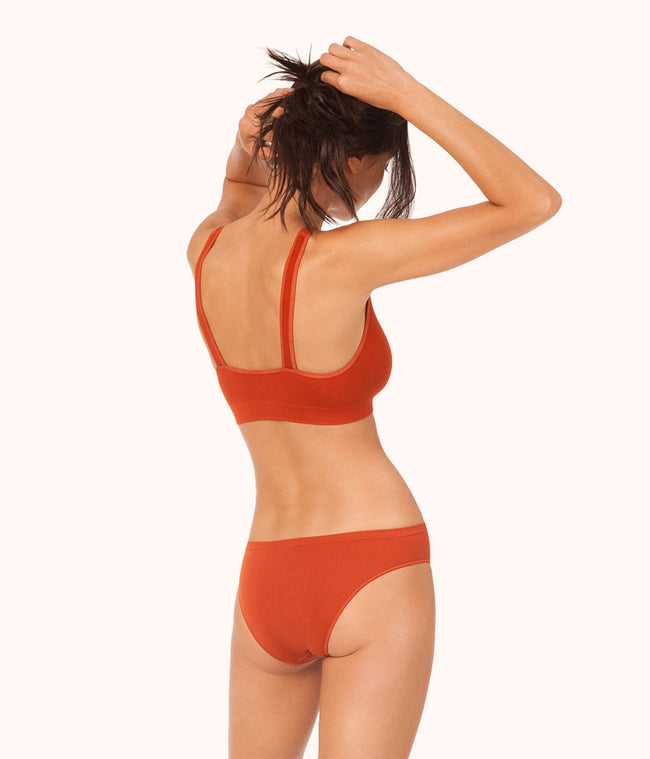 The Seamless Bikini: Burnt Orange