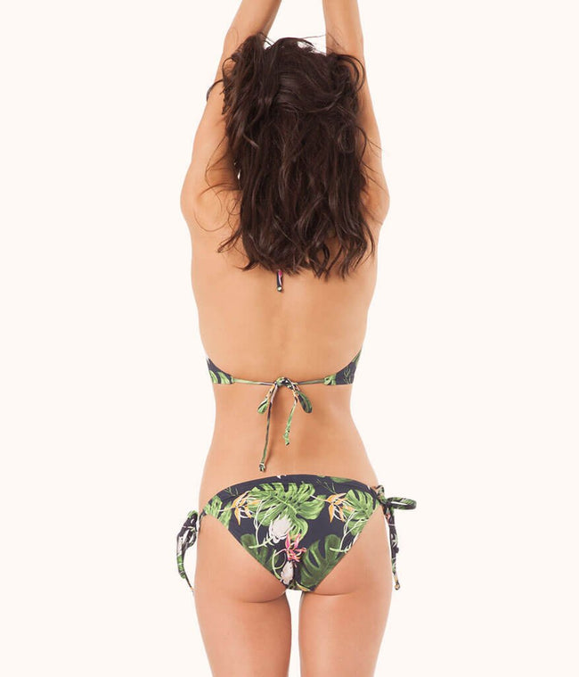 The String Bikini - Print: Poolside Print