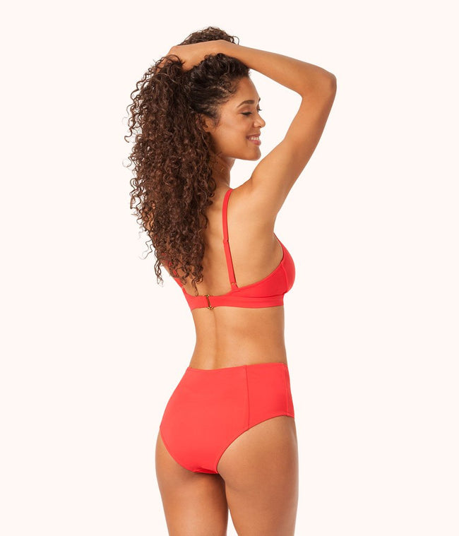 The High Waist: Tomato Red
