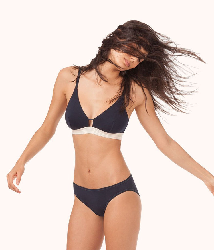 The All-Day Bralette: Midnight Navy