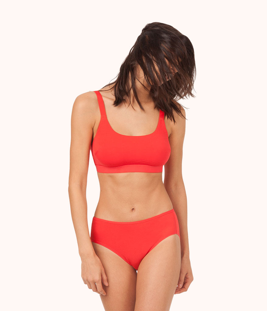 6a3177dd79 The All-You Bralette  Tomato Red