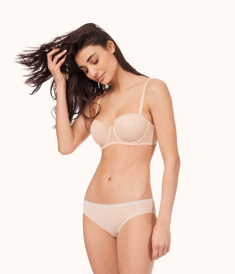 The Balconette Push-Up: Toasted Almond