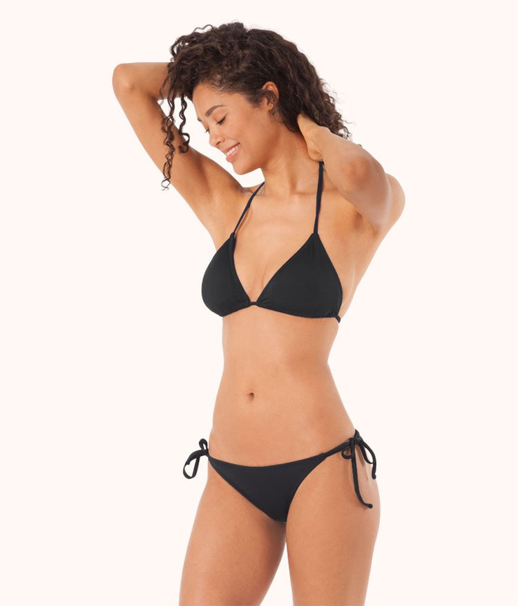The String Bikini: Jet Black
