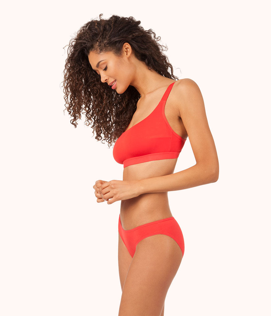 ffdab88058 The All-You Busty Bralette  Tomato Red