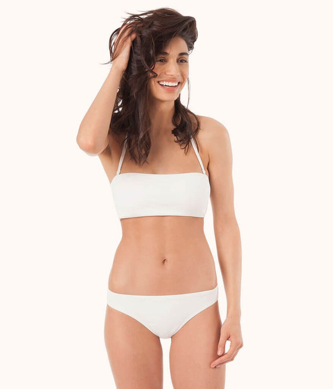 The Bandeau: White