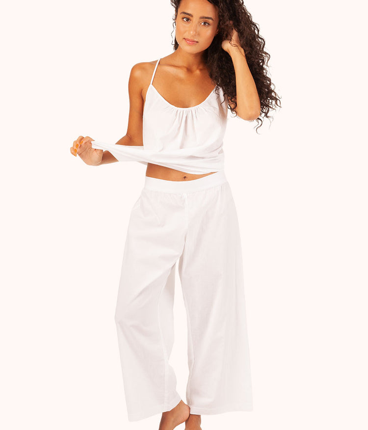 The Lounge Pant: White