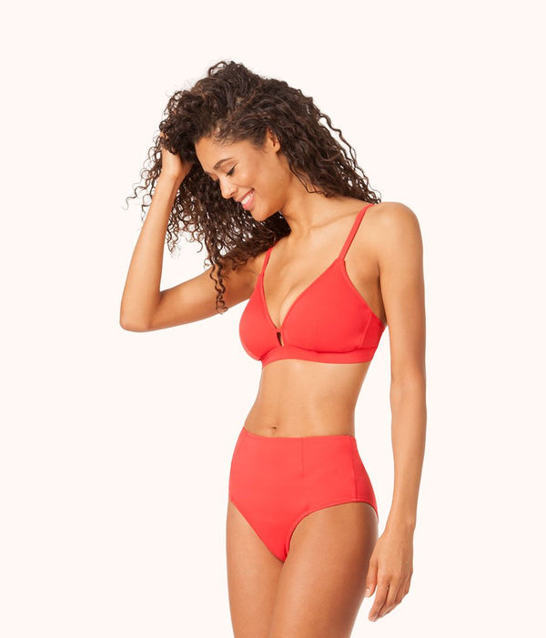 ca7b3a327e5 The Busty Bralette  Tomato Red ...