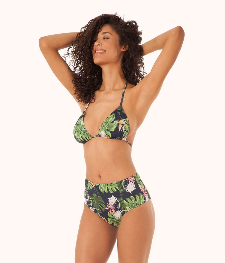 The High Waist - Print: Poolside Print