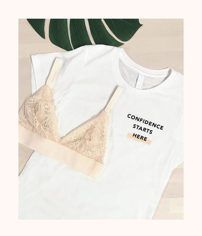 The Confidence Tee: White