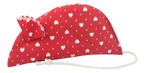 Red Hearts catnip mouse