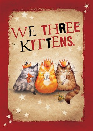 We Three Kittens catnip mouse