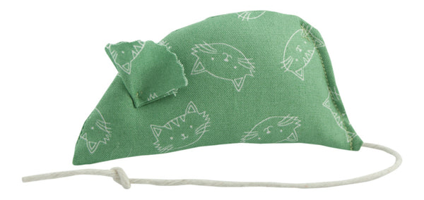 Green Faces Catnip Mouse