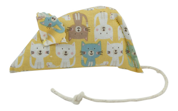 Cats Parade Catnip Mouse - Yellow