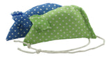 Spotty Pack of 2 Catnip Mice - Blue and Green