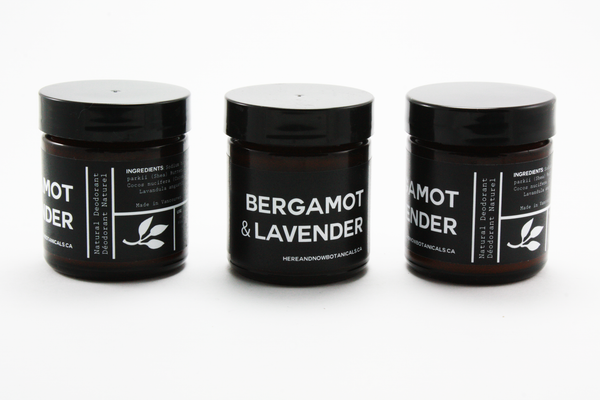 Bergamot & Lavender - All Natural Deodorant