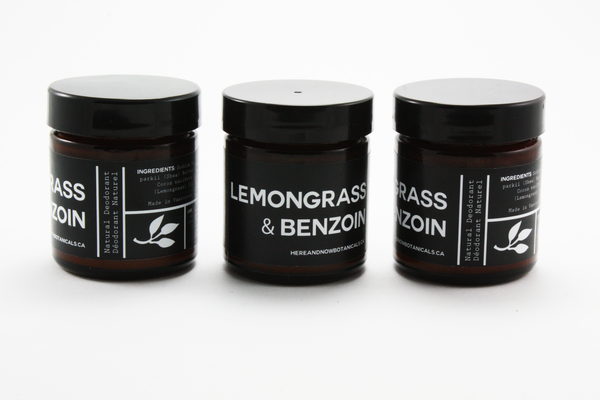Lemongrass & Benzoin - All Natural Deodorant