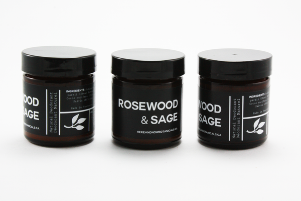 Rosewood & Sage - All Natural Deodorant