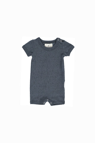GRO COMPANY BASIS Aesthetic Dots sommersuit - dark washed