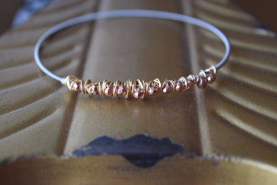 Copper Head Road Guitar String Bangle