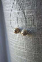 Gold Dust Woman Guitar String Earrings