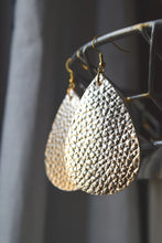 Goldie Leather Earrings