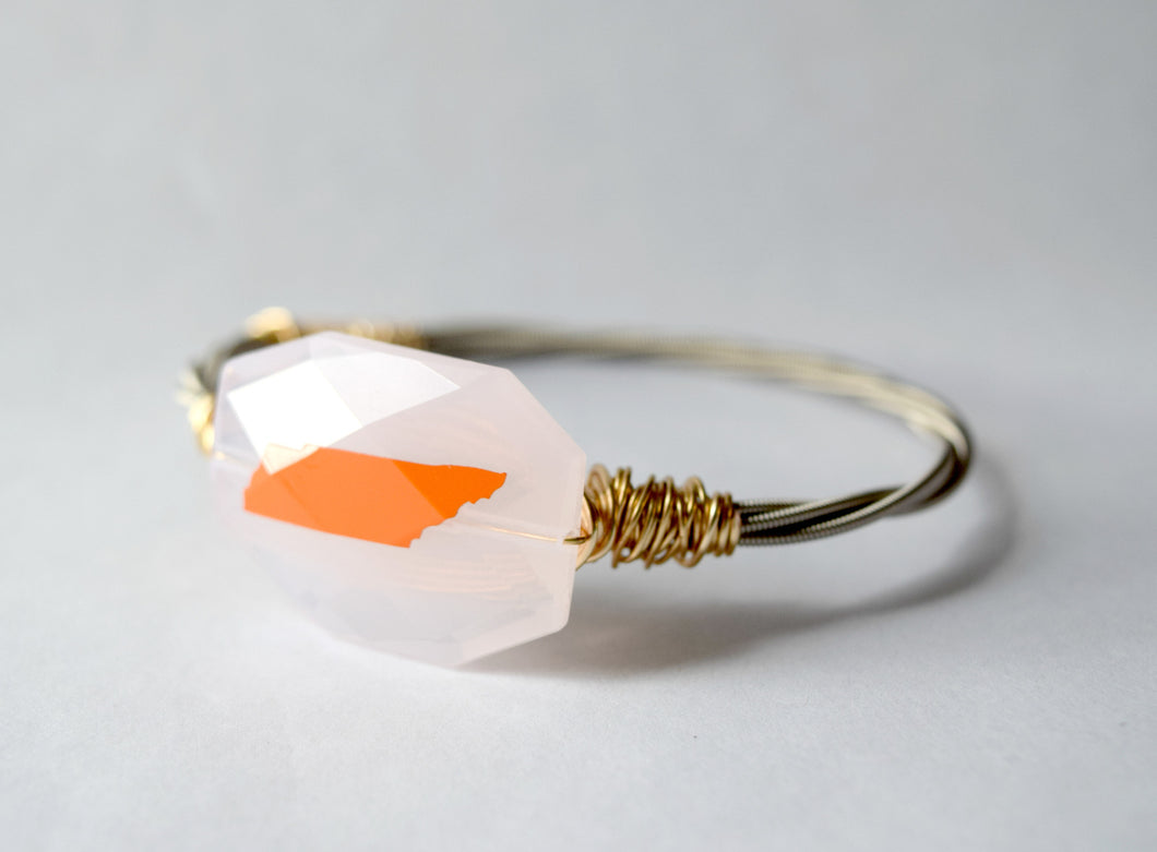 Rocky Top Tennessee Guitar String Bangle
