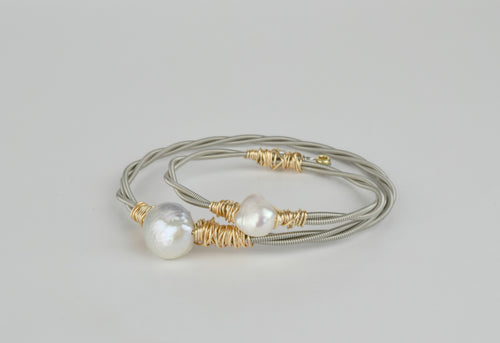 Mommy & Me Guitar String Bangle Set (Little Belle's Bangle)