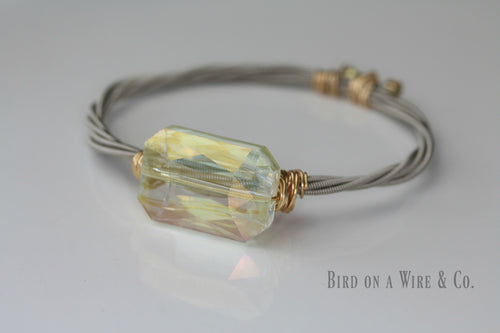 Fancy Guitar String Bangle