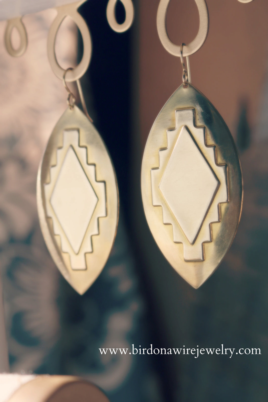 The Aztec Earrings