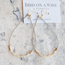 The Blondie Guitar String Earrings