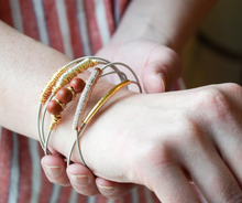 The Fancy Guitar String Bangle