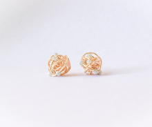 Mini Infinite Stud Earrings