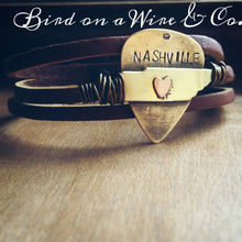 Tennessee Leather Bracelet