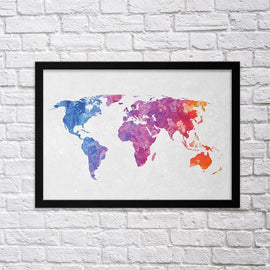 Colorful World Map II
