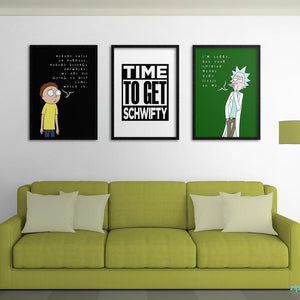 Rick & Morty Poster Set - Northshire