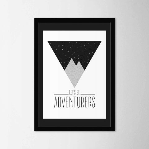 Adventurers - Northshire - Poster - Dekorasyon - Ev Dekorasyonu - Wall Art - Metal Wall Art - Decoration
